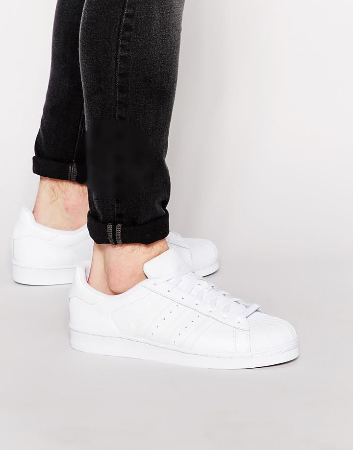 Adidas Originals Superstar Sneakers B27139 - White