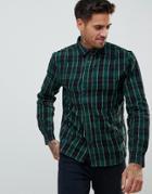 Religion Check Shirt - Green