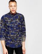 Carhartt Wip Foster Shirt Long Sleeve - Blue