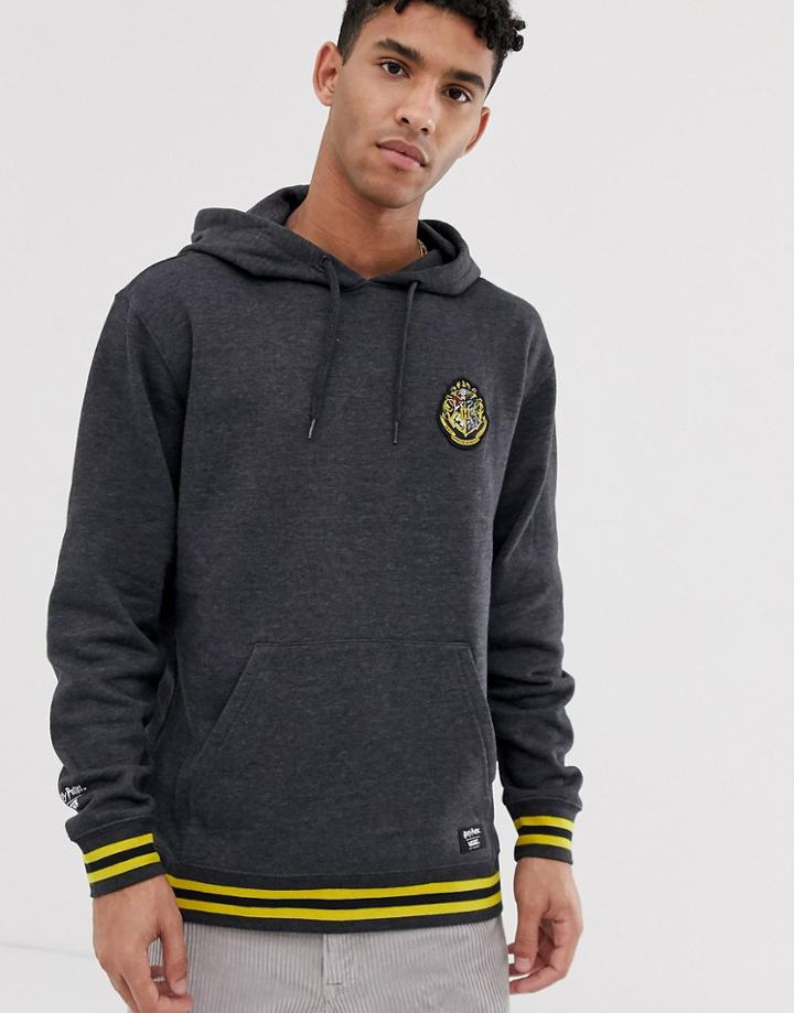 Vans X Harry Potter Hogwarts Hoodie In Gray