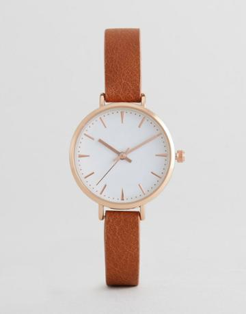 Asos Tan Watch - Tan