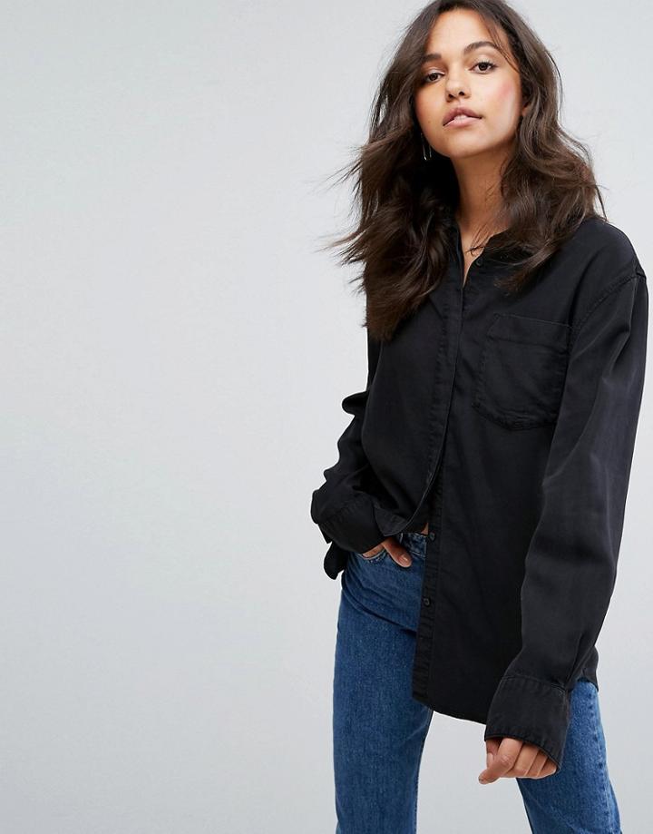 Weekday Denim Shirt - Black