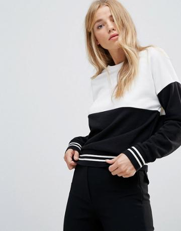 New Look Mono Block Sweat - Black