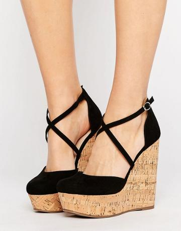 Asos Orchard Wedges - Black