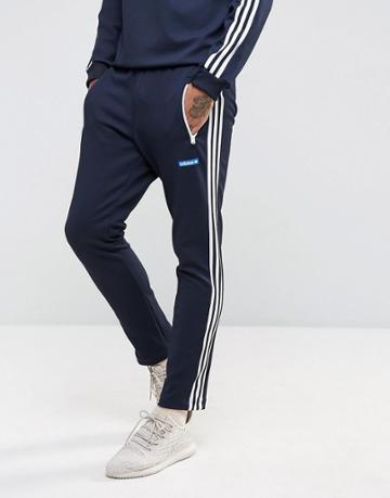 Adidas Originals Osaka Tennoji Track Joggers In Navy Bs4683 - Navy