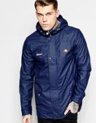 Ellesse Jacket With Hood - Navy