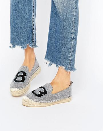 Asos January Espadrilles - Gray