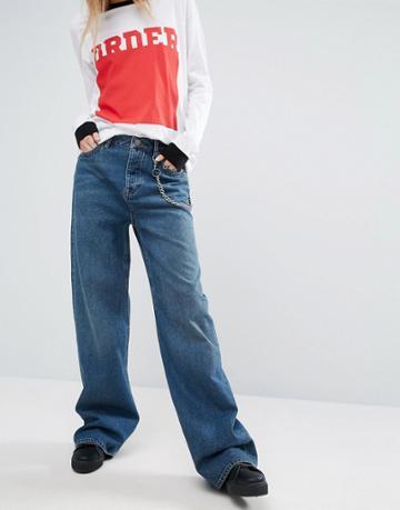 Asos Skater Jean - Blue