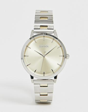 Boss 1502500 Marina Bracelet Watch In Mixed Metal