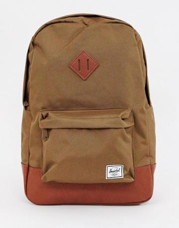 Herschel Supply Co Heritage 21.5l Backpack In Brown - Brown