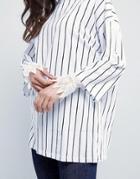 Asos Lace Cuffs - White