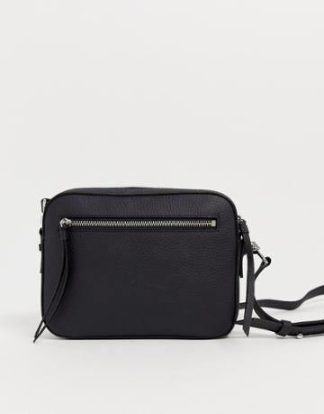 Allsaints Zip Detail Crossbody Bag - Black