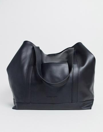 Claudia Canova Oversized Tote Bag In Black