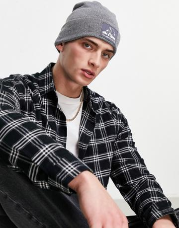 The North Face Dock Worker Beanie In Gray-grey