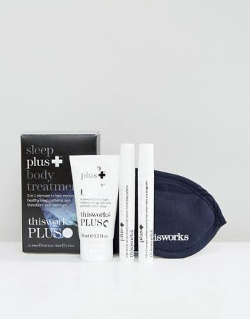This Works Limited Edition Sleep Plus Body Treatments Kit - Clear