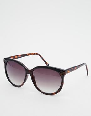 Jeepers Peepers Oversized Sunglasses - Brown