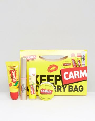 Carmex Keep Carm & Carry Bag Set - Clear