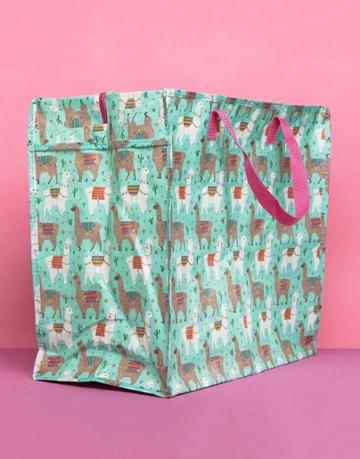 Sass & Belle Llama Storage Bag - Multi