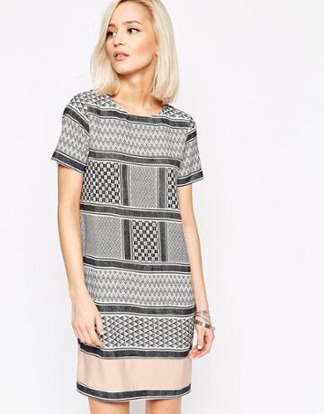 Vero Moda Printed Tunic Dress - Multi