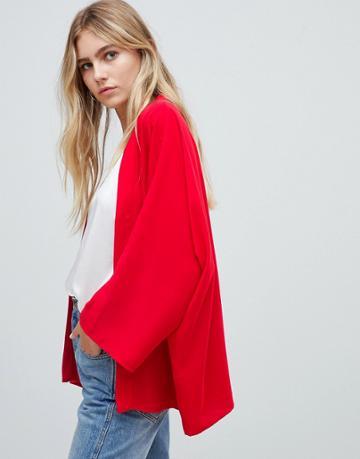 Asos Design Kimono - Red