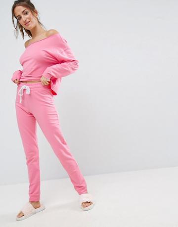 Asos Lounge Jogger - Pink