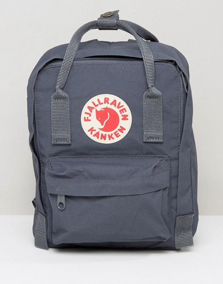 Fjallraven Mini Kanken Backpack In Graphite - Gray