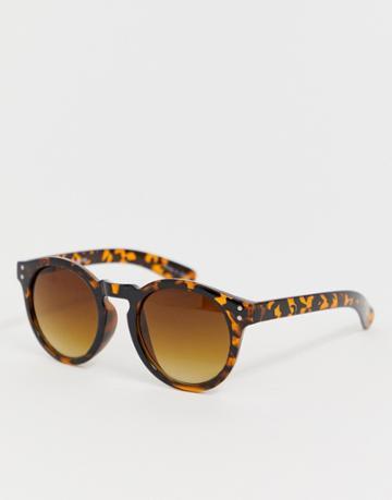 Vero Moda Oversized Sunglasses - Brown