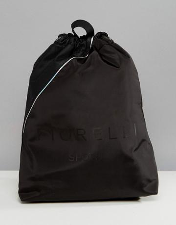 Fiorelli Sport Elite Drawstring Gym Backpack In Black - Black