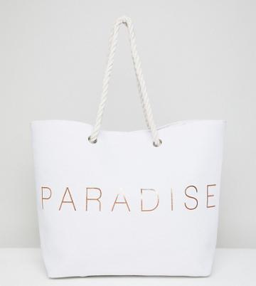 South Beach Paradise Beach Bag - Gold