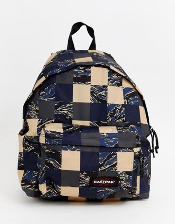 Eastpak Padded Pak'r Camopatch Backpack 24l - Navy