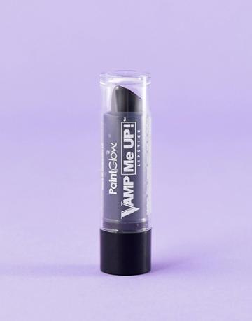 Paintglow Vamp Me Up Lipstick - Black - Black