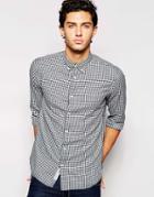 Produkt Gingham Shirt - Navy