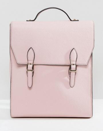 Asos Satchel Backpack - Pink