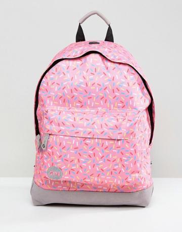 Mi-pac Classic Sprinkles Backpack - Pink