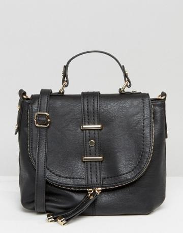 Oasis Saddle Bag - Black