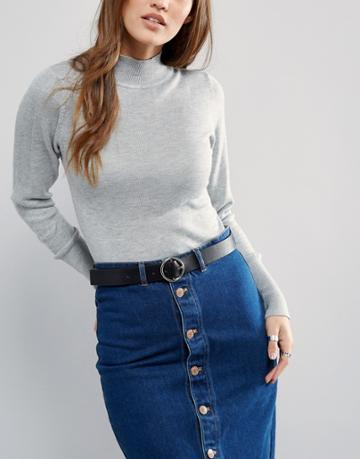 Pieces Malulu Jeans Belt - Black