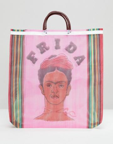 Rock N Rose Frida Shopper Bag - Pink