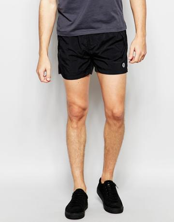 Religion Short Shorts - Black
