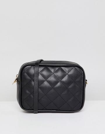 Monki Quilted Cross Body Bag - Multi