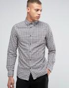 Selected Gingham Shirt - White