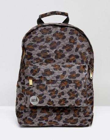 Mi-pac Mini Faux Pony Leopard Print Backpack - Multi