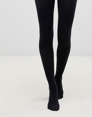 Pretty Polly 80 Denier Opaque Tights In Black - Black