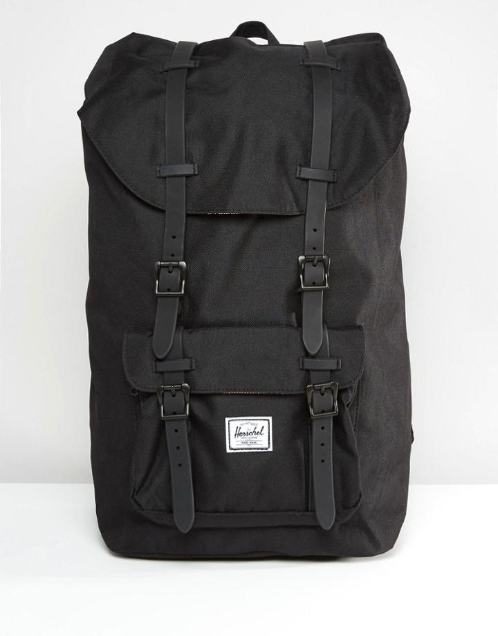Herschel Supply Co Little America Backpack In Black 25l - Black