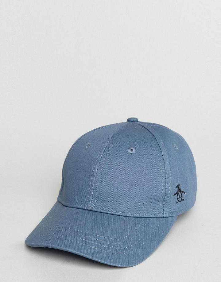 Original Penguin Baseball Cap - Gray