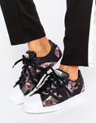 Adidas Originals X Farm Multi Leopard Print Superstar Sneakers - Multi