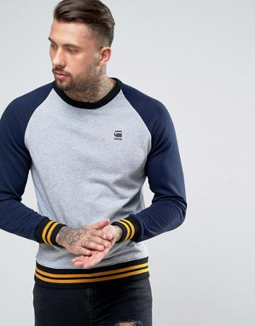 G-star Malizo Sweater - Blue