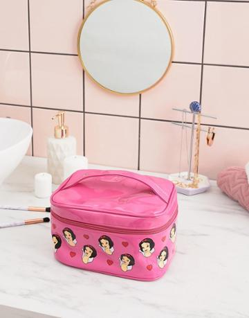 Typo Disney Snow White Cosmetic Bag - Pink