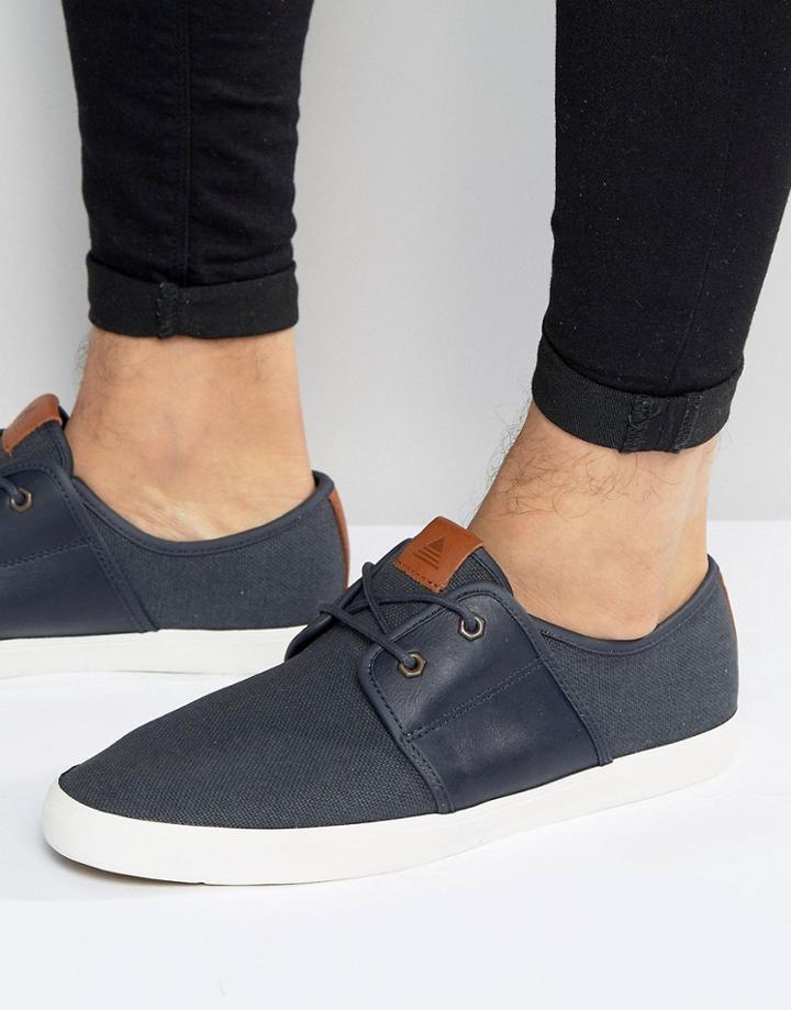 Aldo Goeven Derby Sneakers - Navy