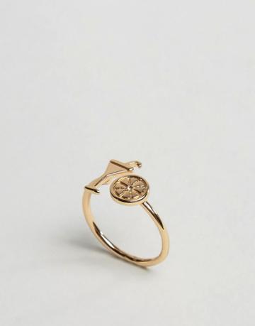 Asos Cocktail Ring - Gold