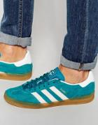 Adidas Originals Gazelle Indoor Sneakers S74851 - Green